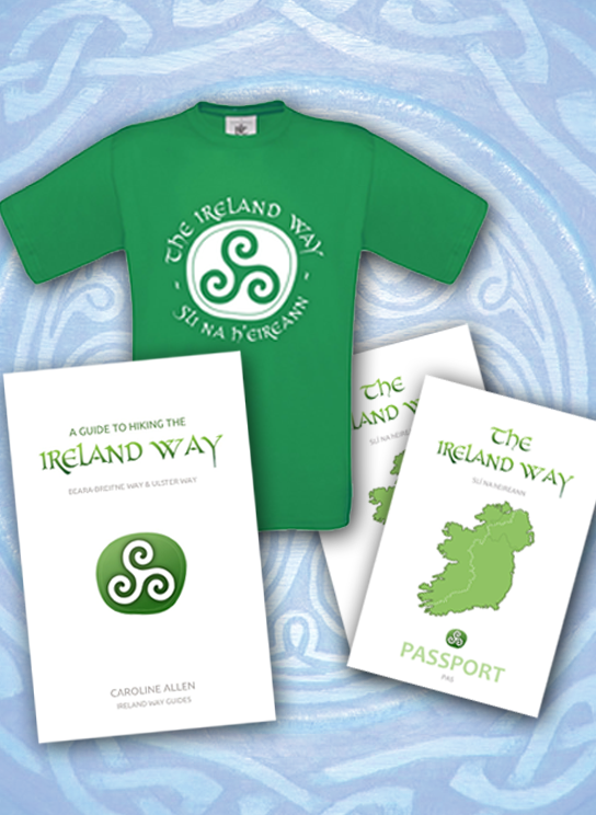 The Ireland Way T-shirt and guidebook