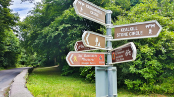 Signposts on the Beara-Breifne Way