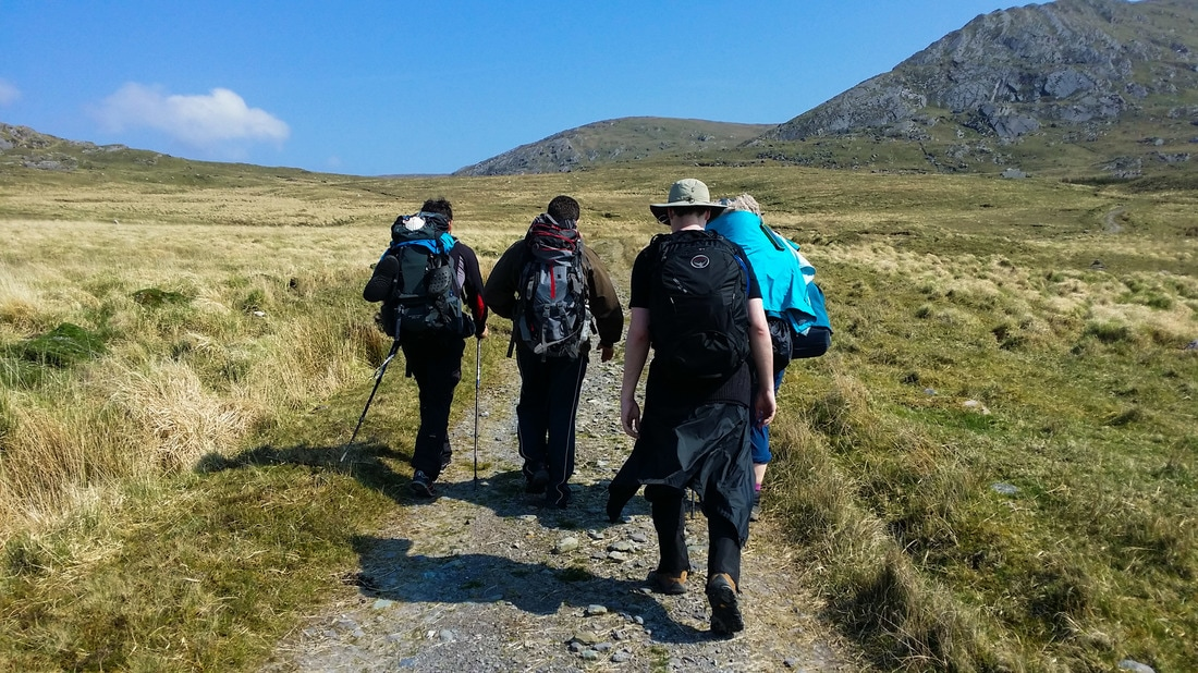 Hikers Beara-Breifne Way Ireland Way hiking trail
